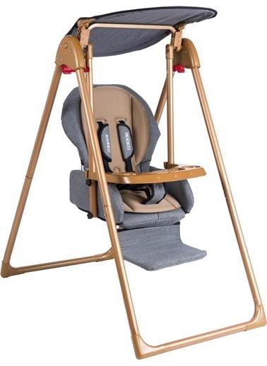Tommy Baby Crazy Gold Salıncak Bebek Çocuk Salıncağı Mama Sandalyesi Füme